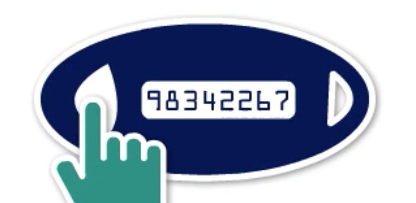 security token with numbers icon